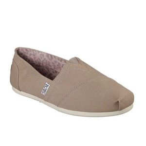 BOBS Plush Peace and Love Slip Ons